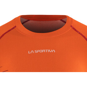 La Sportiva Complex T-Shirt Uomo, pumpkin/chili